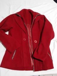 Casaco vermelho Inverno Tam G