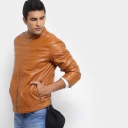 Jaqueta couro sintético original