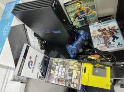 Título do anúncio: PS2 FAT destravado com Matrix