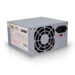 Fonte ATX para PC 200W Bivolt Chinamate CM200 novo e garantia