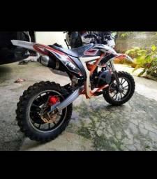 Mini motocross mxf 49 cilindradas