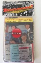 O pacote de réplicas dos Beatles.