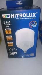Título do anúncio: Lampada bulbo t140 50w luz branca nitrolux