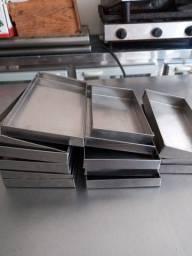 Bandejas em.inox para estufas de salgado