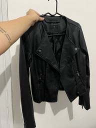 jaqueta de couro pp