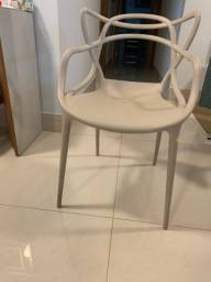 Cadeira Allegra - cor Fendi