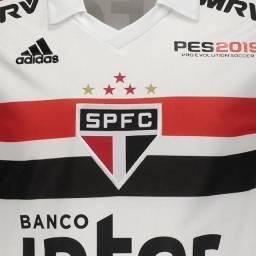 Título do anúncio: Camisa do São Paulo 2018 com patrocínios