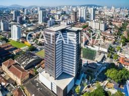 Título do anúncio: Sala Comercial 52 mts- Santos - SP - 2 vagas  - R$  261.058,66