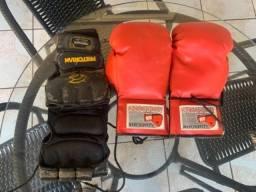 Luvas de boxe e MMA para treinos