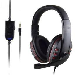 Fone Gamer Stereo Gaming Headset Para SmartPhone, Xbox, PlayStation - Plug 3.5mm