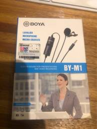Título do anúncio: Microfone de Lapela Boya BY-M1 Omni Direcional