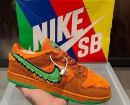 "Tênis Nike SB Dunk Low X Grateful Dead Bears ""Orange"""