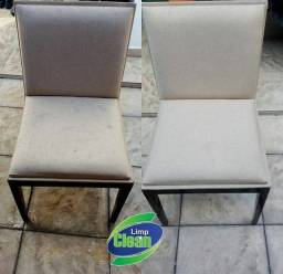 Lavagem a seco é Limpeza Detalhada em Cadeiras
