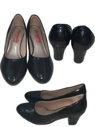 Sapato social sapatilha salto baixo n 36 feminino