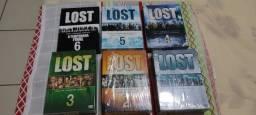 Série Lost - Todas as Temporadas - 06 DvD's Box