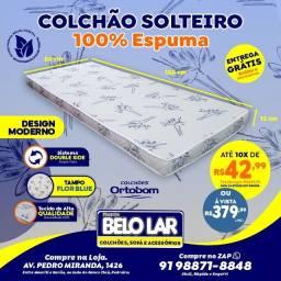 Colchão Ortobom Solteiro De Espuma,