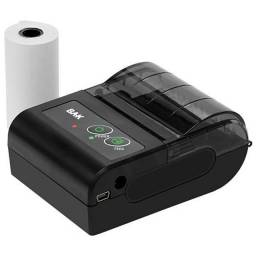 Impressora Térmica Bak Bk-034 Bluetooth Recarregável Bivolt