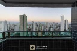 Título do anúncio: Apartamento na Torre com 97 m², 2 vagas e 21º andar  - Edf. Edésio Pessoa