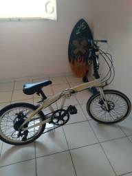 Título do anúncio: Bicicleta desmontável