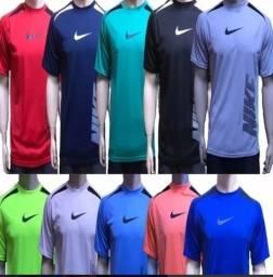Kit com 5 Camisetas Masculina - Barato