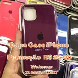 Capa Case iPhone Promoção R$ 25,00 - Consulte para o modelo do seu iPhone