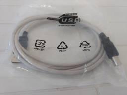 Cabo USB 2.0 para Impressora