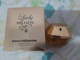 Lady Million EDP 80 ML *ORIGINAL* pouquíssimo usado