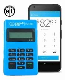 Maquina Maquininha Cartão Mercadopago Point Bluetooth-Entrega Grátis