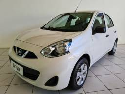 Nissan March 1.0 S 2016 Completo