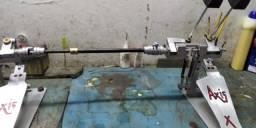 pedal de bateria duplo Axis proficional em aluminium naval
