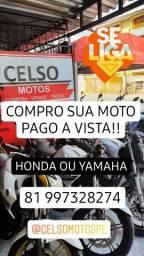 Título do anúncio: Compro sua moto! Pgto a vista!!!