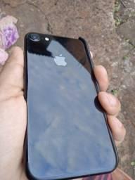 Título do anúncio: IPhone 7 black 128gb(aceito troca)