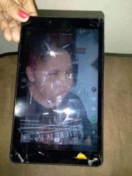 Vendo tablet T290 sansung com tela trincada