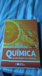 Coleção de Livros Química Volume Único -Tito&Canto - Saraiva Editora - Usado