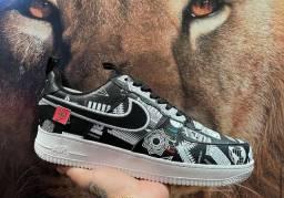 "Título do anúncio: Tênis Nike Air Force 1 Low ""Worldwide"""