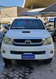 Toyota hillux diesel 2011 4x4 blindada