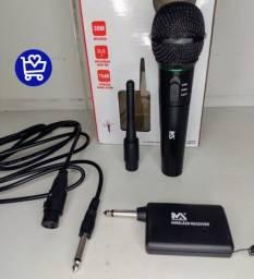 Microfone maxmedia sem fio