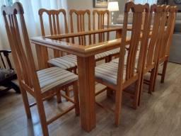 Título do anúncio: Conjunto Mesa/08 Cadeiras