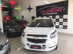 Chevrolet Spin LT 1.8 Aut com GNV 2016 IPVA 2021 Grátis e Primeira Parcela Para 90 Dias