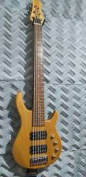 Contra Baixo 6 cordas Eagle EGB 6000 / Hard Case