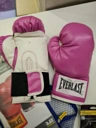 Luva Boxe Everlast 12oz Nova nunca usei