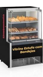 (André) Vitrine Estufa com bandejas Gelopar