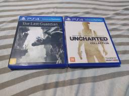 Vendo The Last Guardian é Uncharted Collection