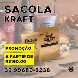 Sacola Kraft Personalizada
