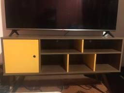 Rack para Tv até 55 - estiloso e funcional