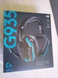 Headset Logitech G935 novo