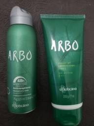 Desodorante e Shampoo Arbo - o Boticário