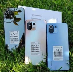 Título do anúncio: Mi 11 Lite Preto/Azul/Rosa 6+128Gb China