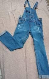 Macacão jeans Lilica tamanho 6