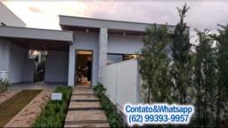 Casa em Condominio Fechado, Financia Direto c/Construtora, em Goiania